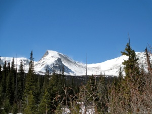 Sawtooth Mountain and Buchanan Pass