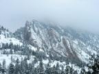Brutal, but pretty. Fowler Trail, 3/1/15