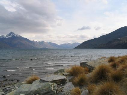 Lake Waikatipu and the Remarkables, the backdrop for Queenstown and our introduction to the South Island.