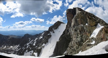 Holy Cross Ridge is impressive from below!
